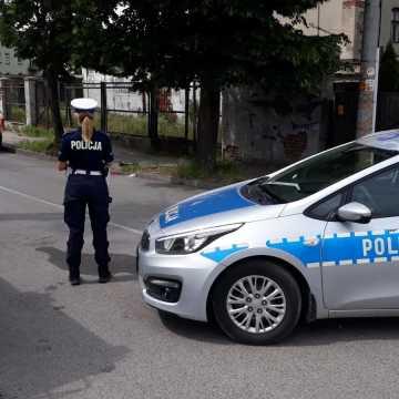 Wypadek na ul. Rolnej w Radomsku. Rowerzysta nieprzytomny