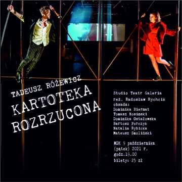 """""""Kartoteka Rozrzucona"""" na scenie MDK w Radomsku"""