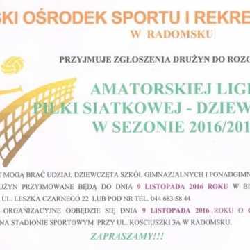 Rusza Amatorska Liga Piłki Siatkowej Dziewcząt