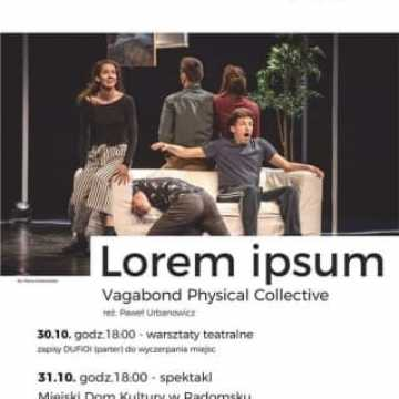 Dwa spektakle Teatru Polska w MDK w Radomsku