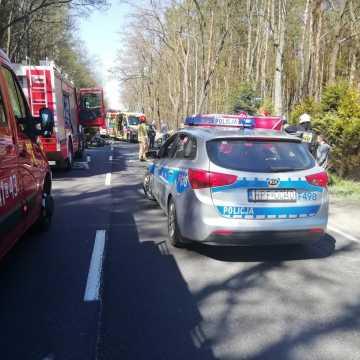 Kletnia: dwie osoby ranne w wypadku