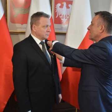 Krzysztof Zygma odznaczony