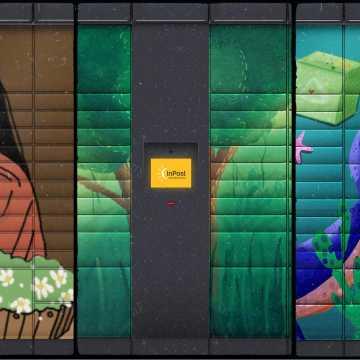 Paczkomaty nie muszą być żółte. Zagłosuj na prace radomszczan, by stały się dziełami sztuki.