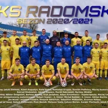 Kadra RKS Radomsko na wiosnę 2021