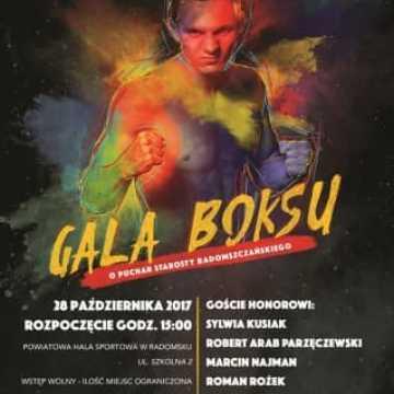 Gala Boksu już w sobotę 28 października