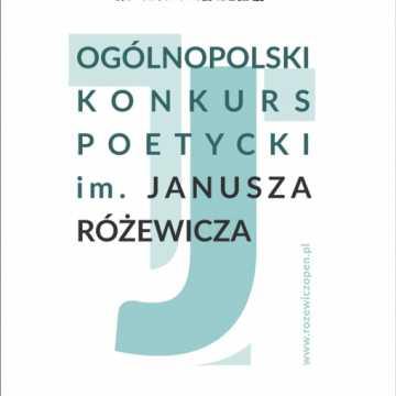MDK w Radomsku ogłasza kolejną edycję konkursu poetyckiego im. Janusza Różewicza