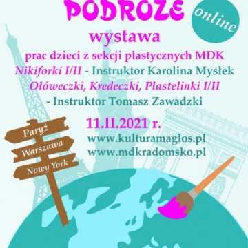 Prace młodych artystów z MDK na wystawie online