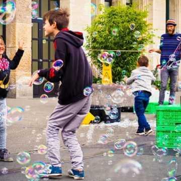 Bubble Day – dzień baniek mydlanych w Radomsku