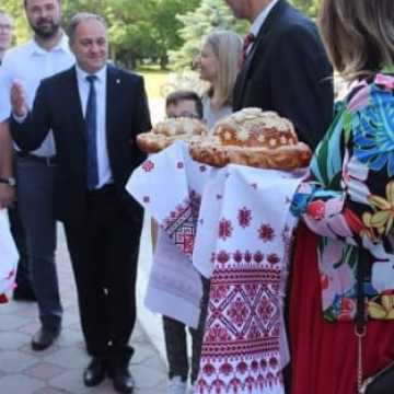 Na święto Wozniesienska pojechała delegacja z Radomska