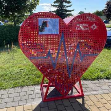 Na terenie szpitala w Radomsku jest drugie serce