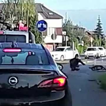 Potrącił rowerzystę i uciekł