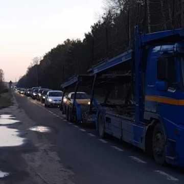 Blokada dróg do bełchatowskiej Elektrowni i Kopalni