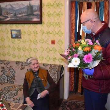 100. urodziny mieszkanki gminy Kamieńsk
