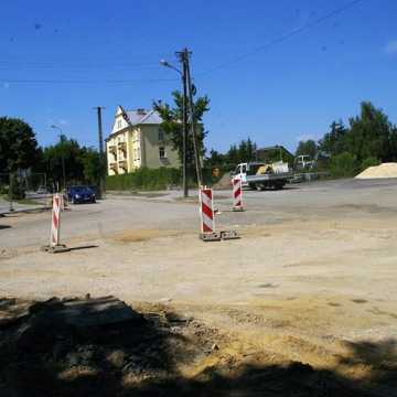 Trwa przebudowa ul. Piłsudskiego w Radomsku