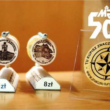 W muzeum w Radomsku można nabyć znaczki turystyczne