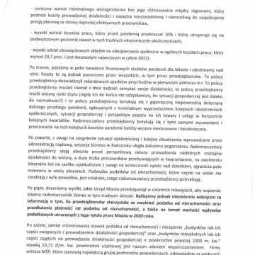 RIPH w Radomsku: prezydencie, nie podnoś podatków!