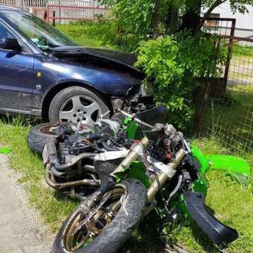 Tragiczny wypadek w Krzywanicach. Nie żyje 38-letni motocyklista