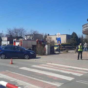 Wypadek na skrzyżowaniu ul. 11 Listopada i ks. Kościowa w Radomsku