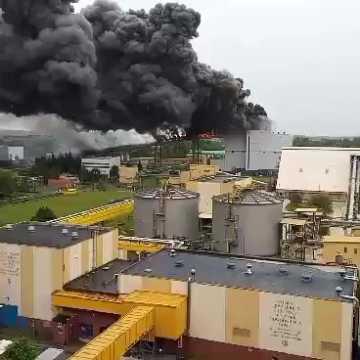 Komunikat PGE dotyczący pożaru na terenie Elektrowni Bełchatów