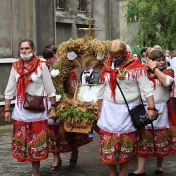 Parafialne dożynki w Kamieńsku