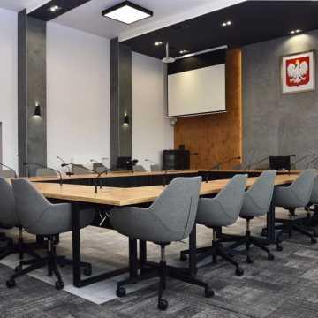 Nowe oblicze sali obrad Urzędu Miasta w Radomsku
