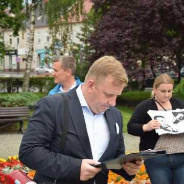 Łukasz Więcek: Radomsko musi stać się lepszym miejscem do życia