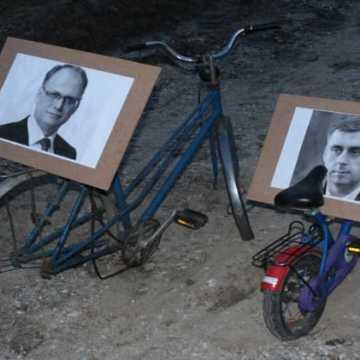 Symboliczne otwarcie ścieżki rowerowej