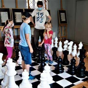 Szachy i roboty w muzeum w Radomsku