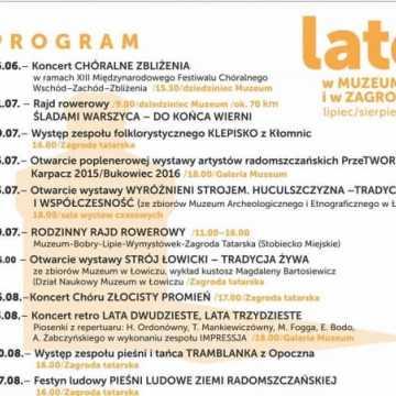 Lato 2017 w muzeum w Radomsku
