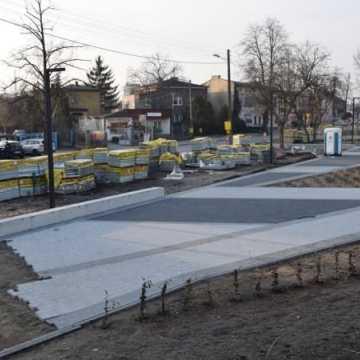 Rewitalizacja parku przy ul. Sierakowskiego na ukończeniu