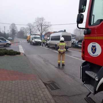 Kilkanaście osób uczestniczyło w wypadku w Kamieńsku