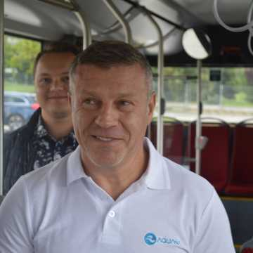 Autobusem na nowy basen w Radomsku