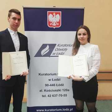 """Uczniowie """"Mechanika"""" otrzymali stypendium Prezesa Rady Ministrów i Ministra Edukacji Narodowej"""