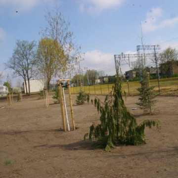 W Gomunicach trwa budowa nowego parku
