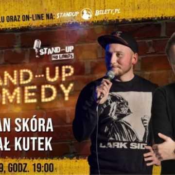 Stand up w Radomsku. Damian Skóra i Michał Kutek