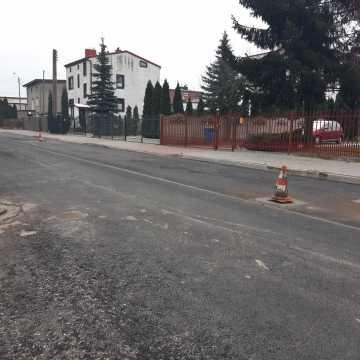 Trwa remont ul. Skłodowskiej w Radomsku