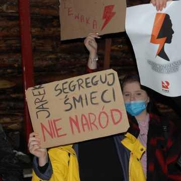 Kolejna blokada ronda Niepodległej w Radomsku. Tym razem niema