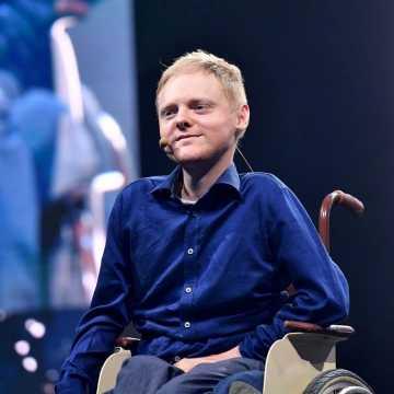 """Łukasz Krasoń: życie osób niepełnosprawnych nie jest """"kaszką z mleczkiem"""""""