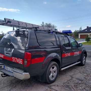 Mieszkańcy i strażacy z Jedlna Drugiego pomogli rannemu rowerzyście