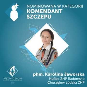 K. Jaworska nominowana w plebiscycie ZHP