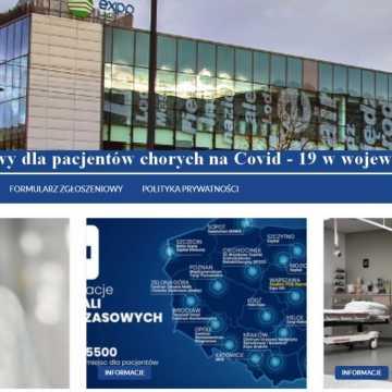 Tymczasowy szpital covidowy w Łodzi ma stronę internetową i poszukuje kadry