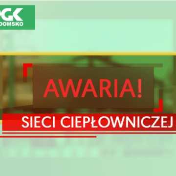 Awaria sieci ciepłowniczej w Radomsku