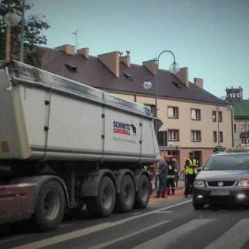 Wyciek z ciężarówki