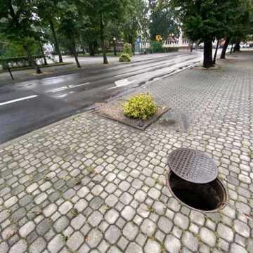 Popadało i zalało ulice w Radomsku