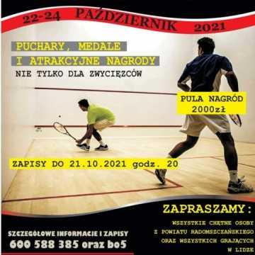 Mistrzostwa Powiatu Radomszczańskiego w Squasha 2021