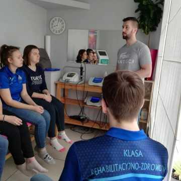 Praktyki klasy rehabilitacyjno-zdrowotnej z ZSP nr 1