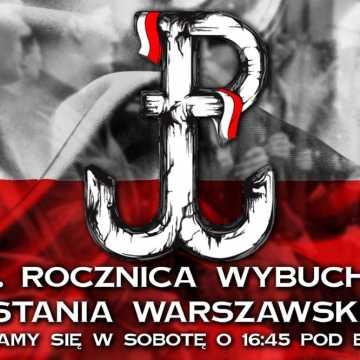 Kibice RKS Radomsko i Młodzież Wszechpolska uczczą rocznicę Powstania Warszawskiego