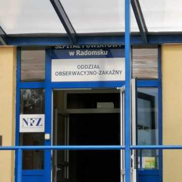 Więcej łóżek covidowych w szpitalu w Radomsku