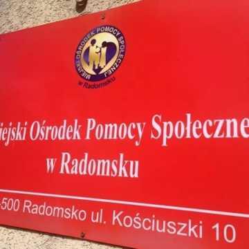 MOPS w Radomsku przyjmuje wnioski przez telefon i e-mail