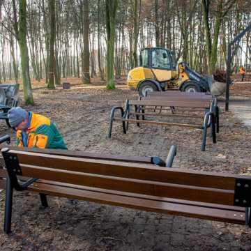 Bełchatów: prace w parku 1000-lecia są już na finiszu